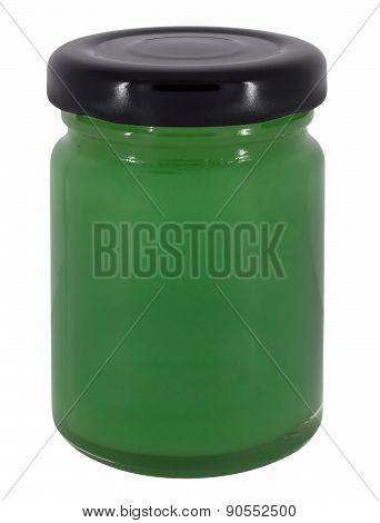 Jar Of Green Jam