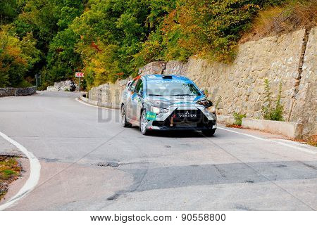 Yalta, Ukraine 09.14.2013. Wog Yalta Rally Fest.