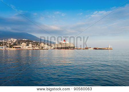 Yalta, Ukraine - October 13, 2013