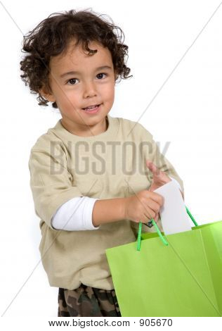 Child With His Gift