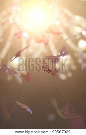Delicate Decorative Butterflies