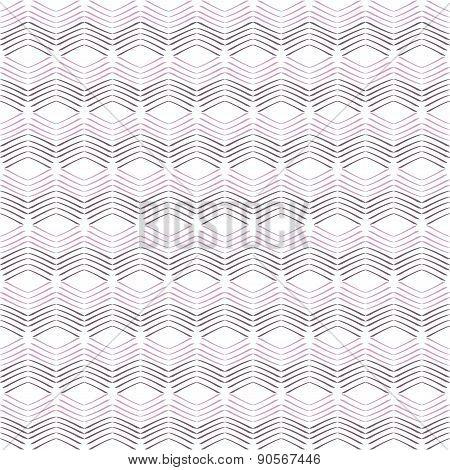 Seamless Geometric Chevron Pattern