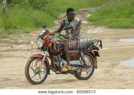 Bodaboda Taxi In Tanzania