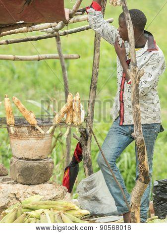 Street Vendors Of Dar Es Salaam
