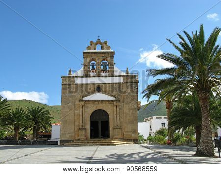 The church of Vega de Rio Palmas