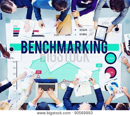 Bench marketing Finance Stock Marketing Business Concept