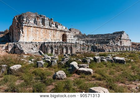 Ancient Greek Theater in Miletus