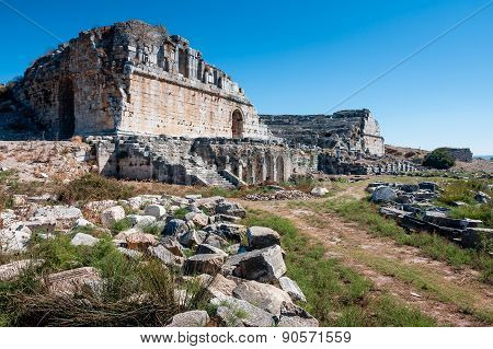 Theater Of Miletus, Turkey