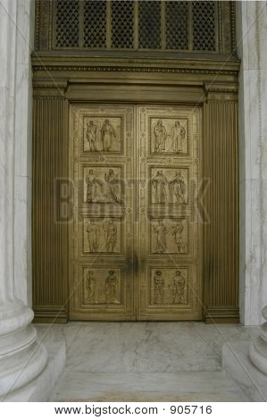 Front Door To The Supreme Court