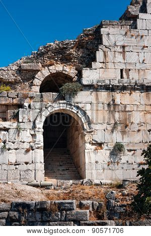 Ancient Ruins Of Miletus