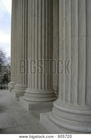 Supreme Court Building Columns