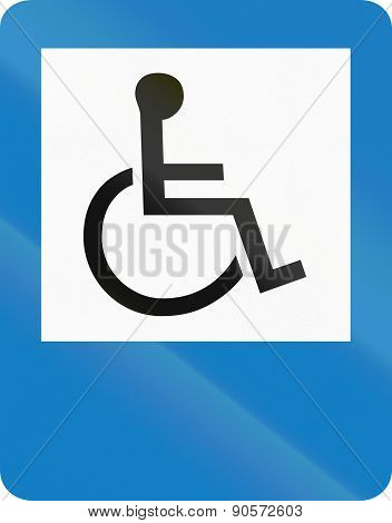 Disabled In Colombia