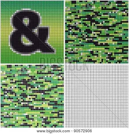 Ampersand (mixed Mosaic)
