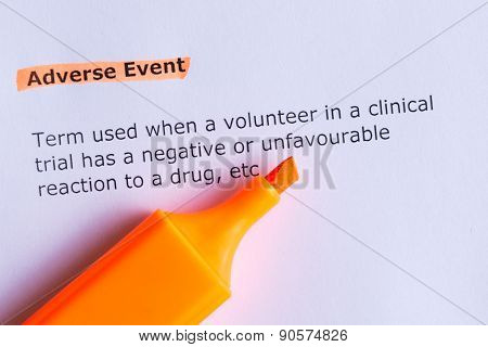 Adverse Event