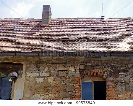 Old House In Europe Country Side