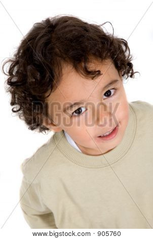 Cute Kid Portrait