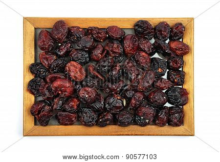 Dried Cranberries In Frame
