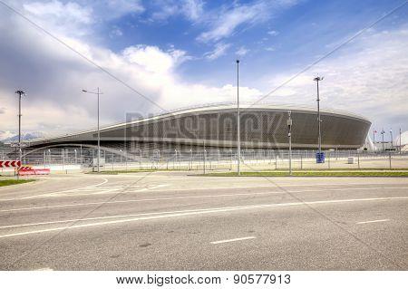 Sochi. Adler. Olympic Object. Tennis Academy