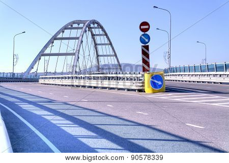 Sochi. Adler. Overpass