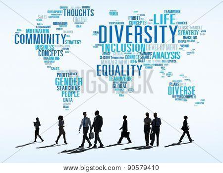 Diversity Ethnicity World Global Community Concept