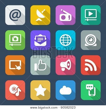 Media Flat Colors Iconset 2