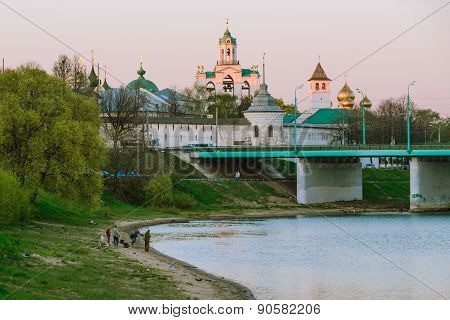 Spasskiy monastery in Yaroslavl