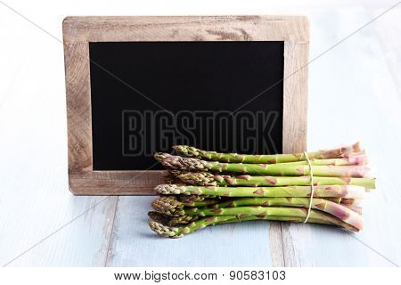 bunch of asparagus - fruits and vegetables