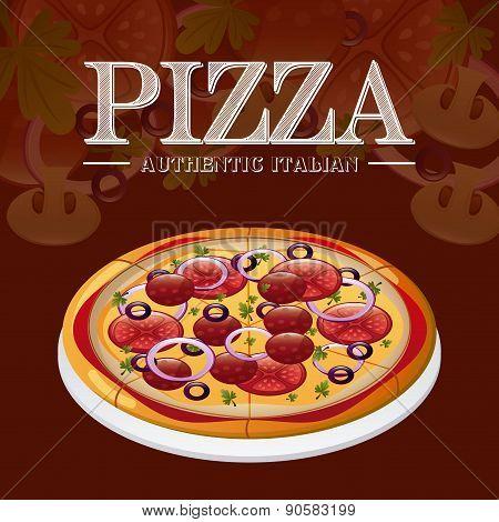 Italian Pizza Design