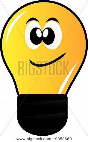 Cartoon-Lampe