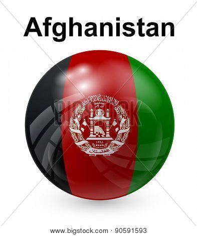 afghanistan official state flag