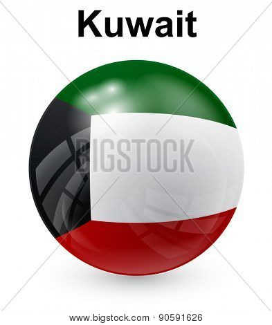 kuwait official state flag
