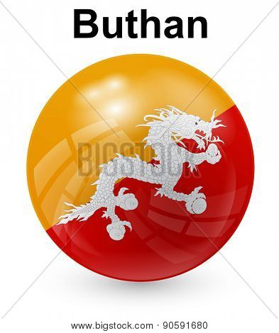 buthan official state flag