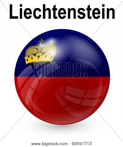 liechtenstein official state flag