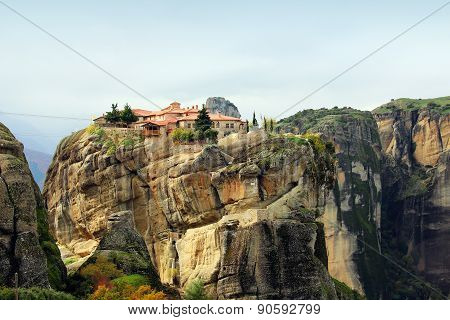 Meteora Rocks And Monasteries, Greece