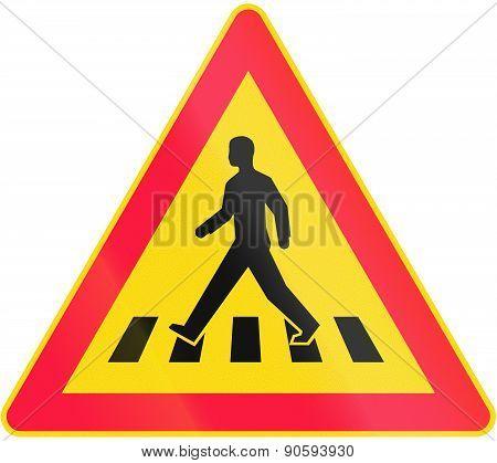 Pedestrian Crossing In Finland