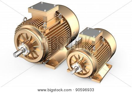 Bronze Industrial Electric Motors