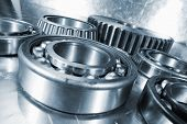 stock photo of bearings  - ball - JPG
