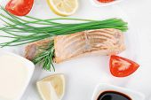 stock photo of chive  - sea food  - JPG