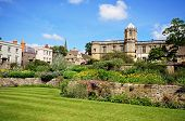 stock photo of church-of-england  - View of Christ Church college and the memorial gardens Oxford Oxfordshire England UK Western Europe - JPG