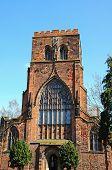 image of church-of-england  - View of the Abbey Church of Saint Peter and Saint Paul Shrewsbury Shropshire England UK Western Europe - JPG