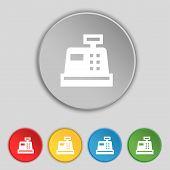 pic of cash register  - Cash register icon sign - JPG
