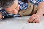 stock photo of floor covering  - Close - JPG