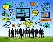 picture of follow-up  - News Breaking News Daily News Follow Media Searching Concept - JPG