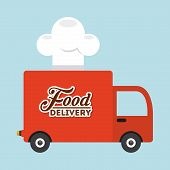 picture of food truck  - food delivery design - JPG