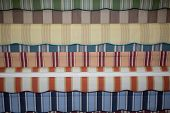 picture of awning  - Colorful set of striped awnings colorful background - JPG