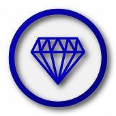 pic of diamond  - Diamond icon - JPG