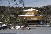 image of shogun  - Zen temple during winter and snow time in japan - JPG