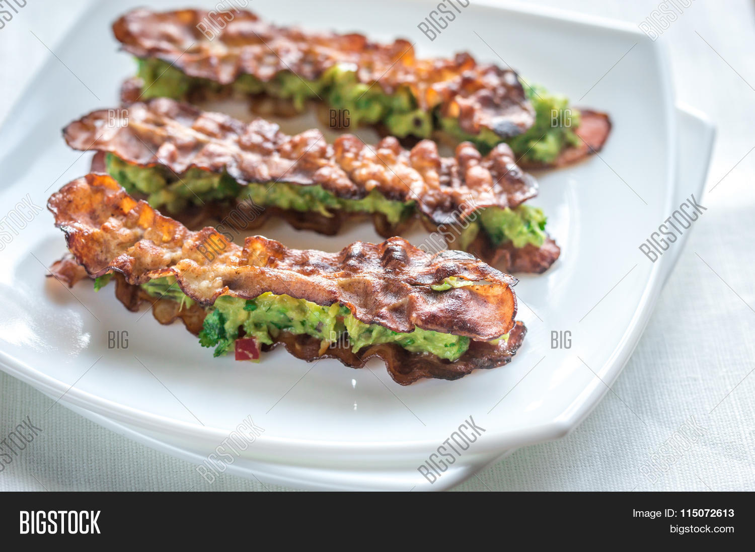 Bacon And Guacamole Sammies Stock Photo & Stock Images ...