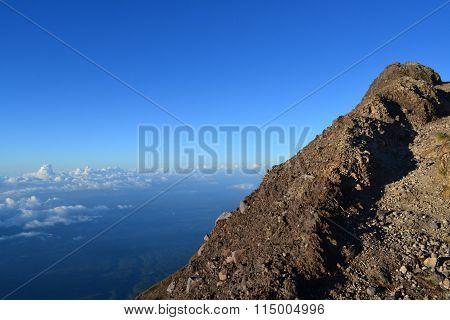 Mount Agung Gunung in Bali, Indonesia