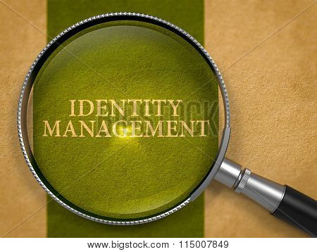 Identity Management through Lens on Old Paper.